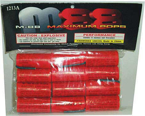 Patriotic Fireworks  M1000 Firecrackers 03019